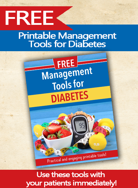 FREE Printable Management Tools for Diabetes