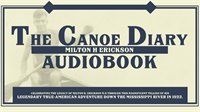 Image of The Canoe Diary of Milton H. Erickson: Audiobook