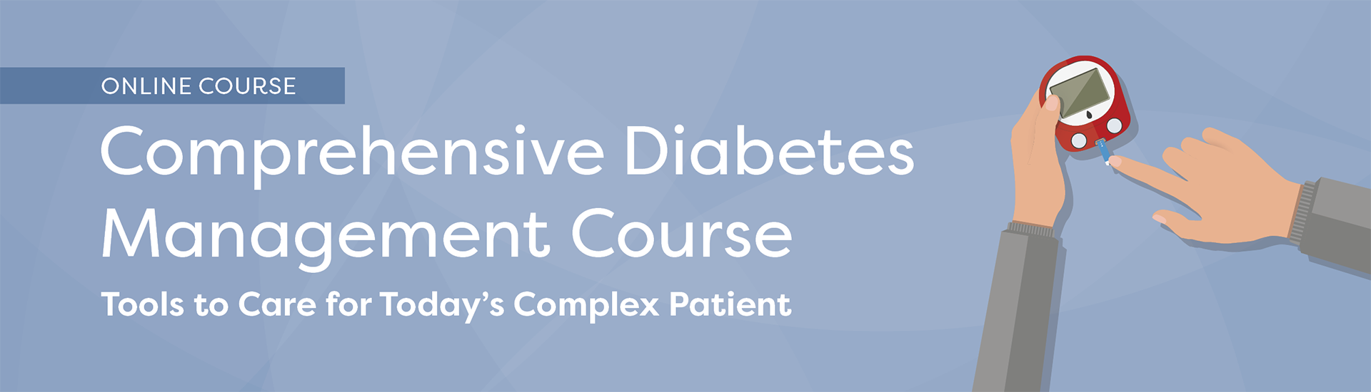 Comprehensive Diabetes Management Course