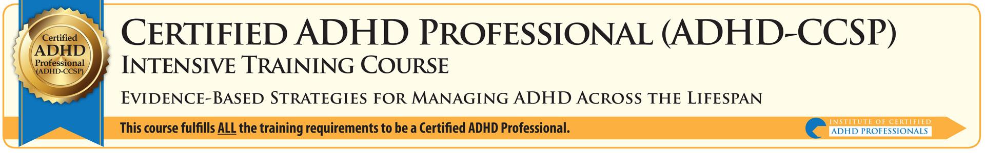 ADHD Intensive Training