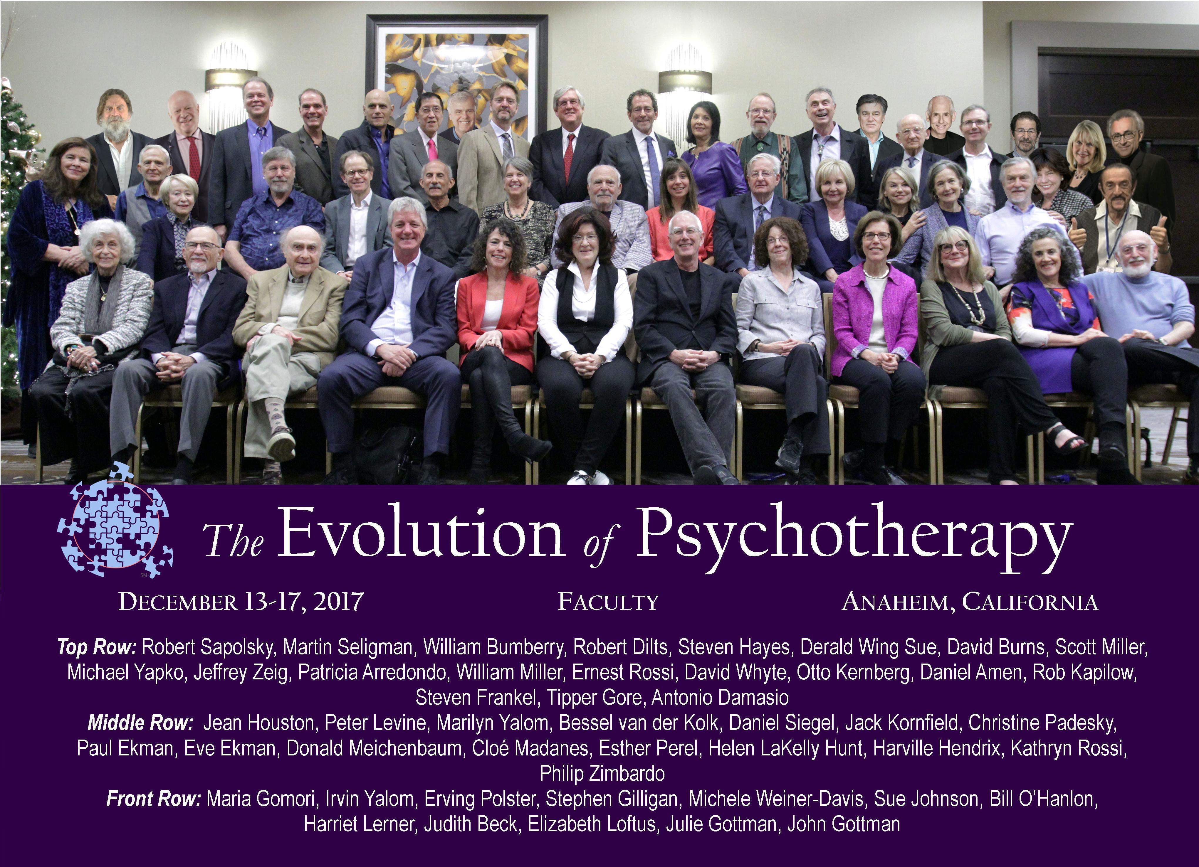 Evolution 2017 Faculty Group Photo