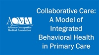 Image of Collaborative Care: A Model of Integrated Behavioral Health in Primary