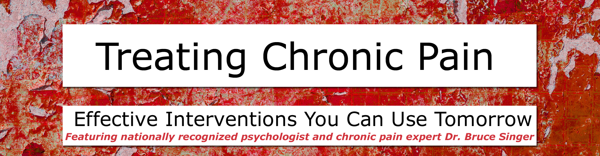 Treating Chronic Pain Header