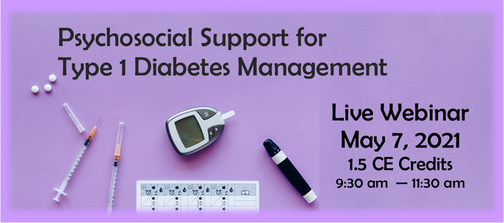 Psychosocial Support for Type 1 Diabetes Management