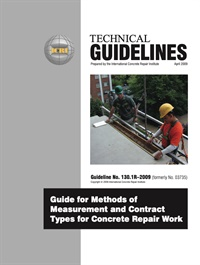 Image of 130.1R-2009 - Guide for Methods of Measurement and Contract Types for