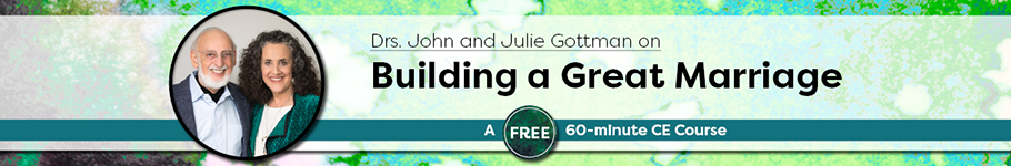 Drs. John and Julie Gottman on Building a Great Marriage