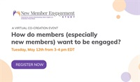Image of How do members (especially new members) want to be engaged?