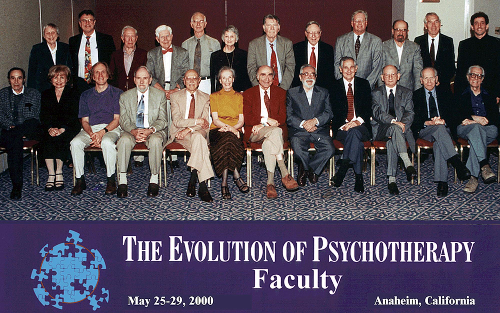 Evolution 2000 Faculty Group Photo