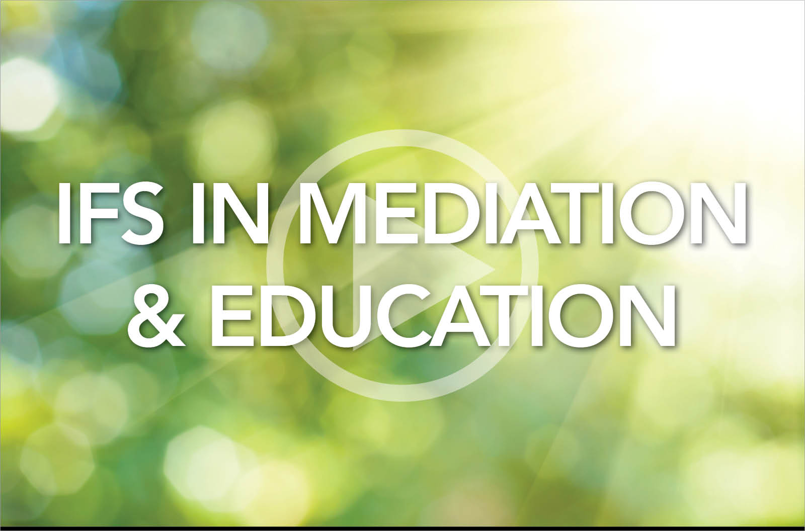 Meditation and Education