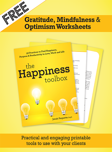Happiness Toolbox Worksheet cover