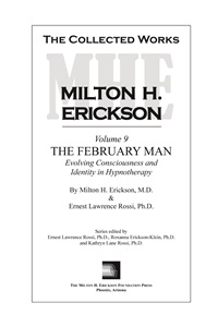 Image of The Collected Works of Milton H. Erickson: Volume 09 - Hardcover: The