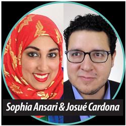 Sophia Ansari and Josue Cardona